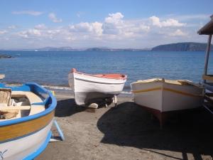 Boats in Ischia, Italy www.eileenslovak.com