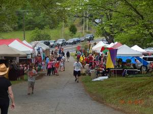 Crowd at The Calvert Arts Festival