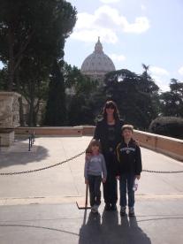 Roaming in Rome!