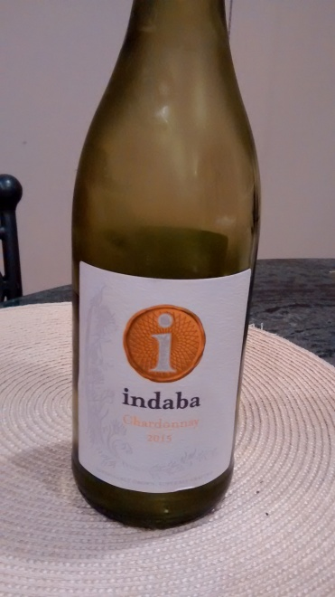 Indaba front label
